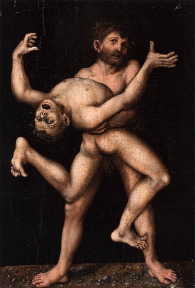 lucas-cranach-hercule-et-antée-vers-1530-collection-privée-source-web-gallery-of-arts