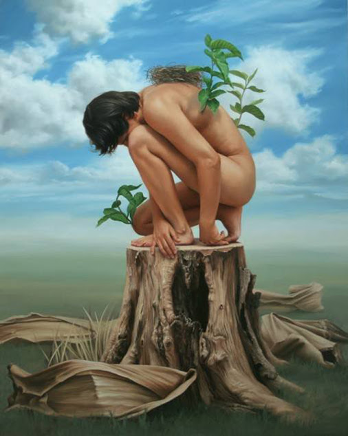 Johnny Palacios Hidalgo 1970 - Peruvian Surrealist painter - Tutt'Art@ (1)