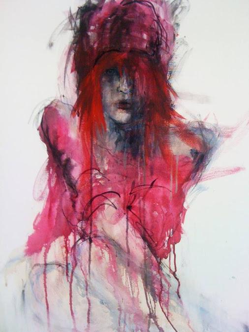 "Saatchi Art Artist Fiona Maclean; Painting, ""Redhead"""