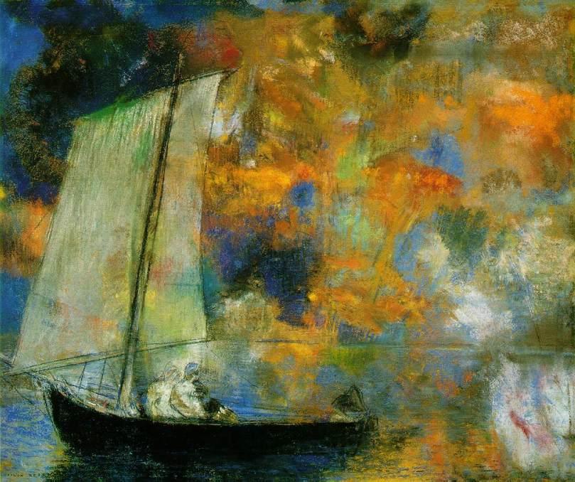 odilon-redon-nuages-en-fleurs-1903