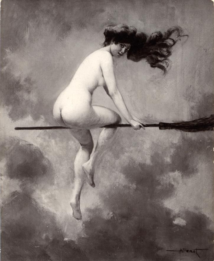 Départ pour le Sabbat 1910 - test-jefferson.blogspot.com