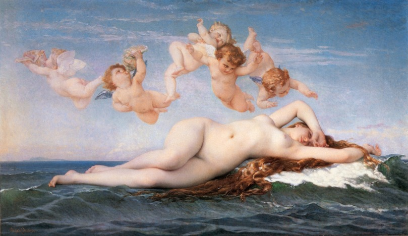 a cabanel birth-of-venus-1863