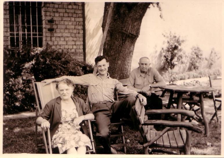 Avec mes grands-parents en Allemagne