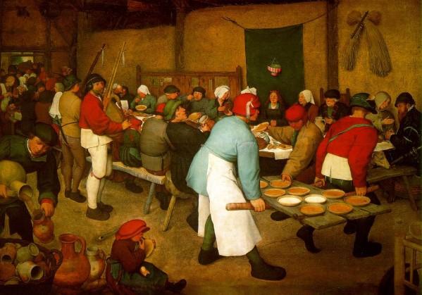 Pieter-the-Elder-Bruegel---Noce-campagnarde---164-x-114-cm