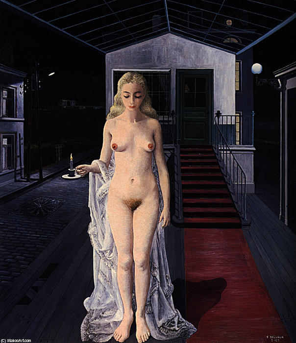 Paul-Delvaux-Chrysis-