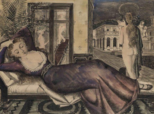 paul-delvaux-la-robe-mauve-1946-1484x1100