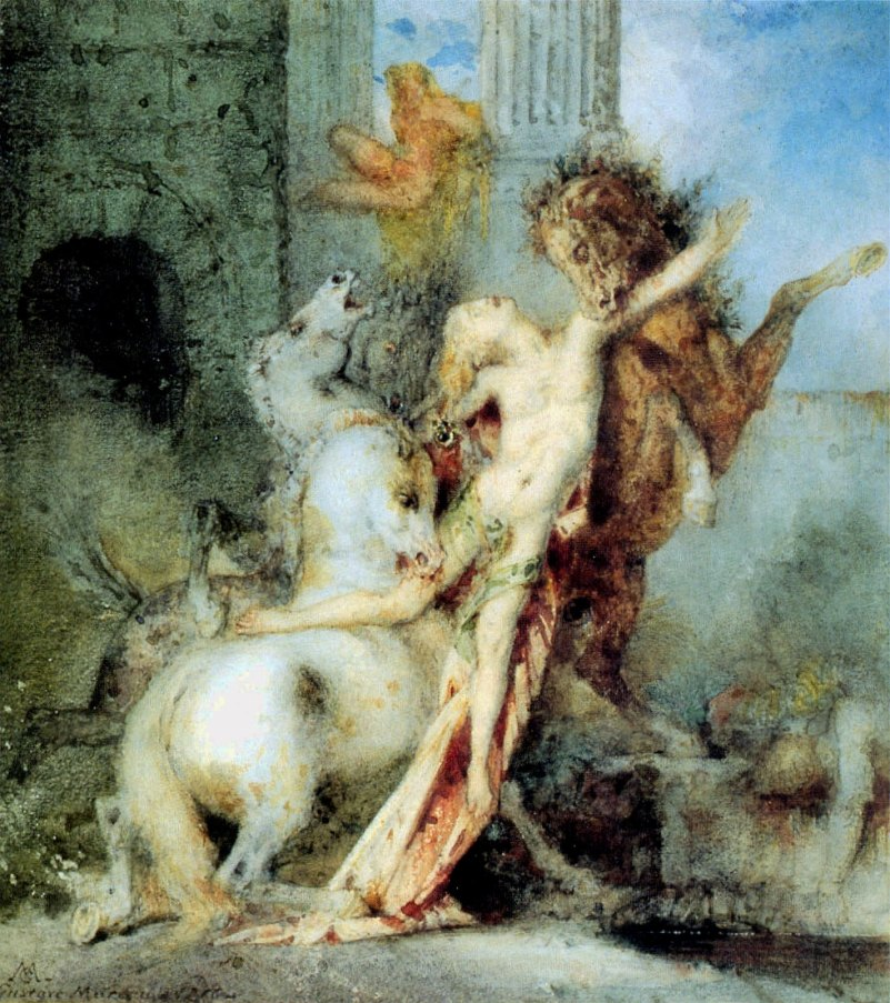 Diomedes_Devoured_by_his_Horses_-_Gustave_Moreau_(1866)