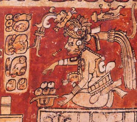 Dieu-Itzamnaaj-Francis-Robicsek-The-Maya-Book-of-the-Dead.-The-Ceramic-Codex-University-of-Virginia-Art-Museum-1981